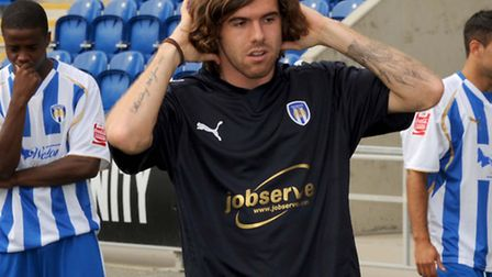 A long-haired version of Stevn Gillespie, who scored twice when the U's lost 4-2 on the opening day