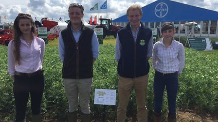 Easton and Otley College competed in the finals of the 'Cereals Challenge' at the 2016 Cereals event