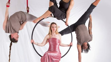 Illuminations, soprano Sarah Tynan and nine circus performers opened this year's festival