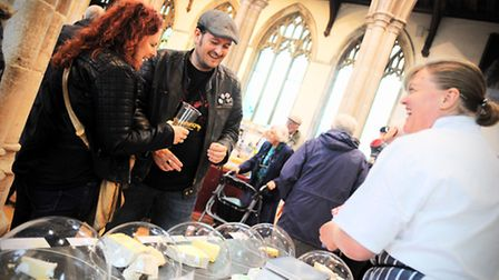 Taste of Sudbury food and drink festival. More than 60 local food and drink producers are expected t