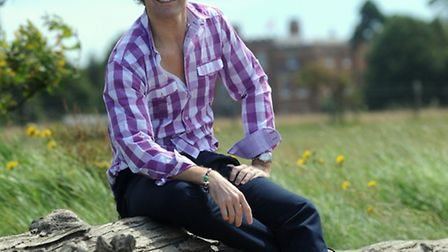 Gary Avis pictured on the shores of the River Orwell near his Suffolk home