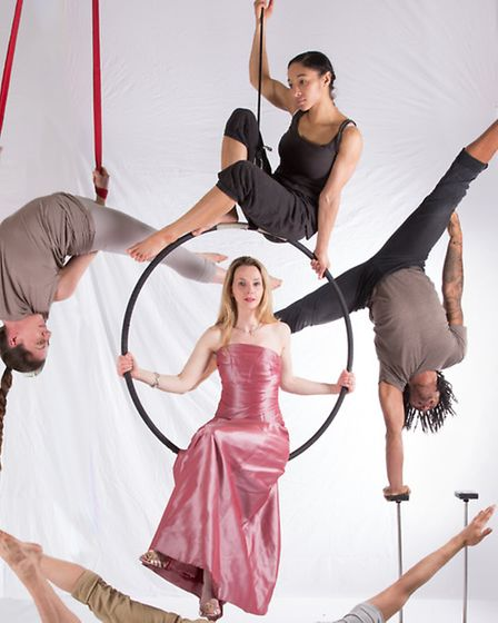 Illuminations with soprano Sarah Tynan and nine circus performers provides a spectacular premiere to