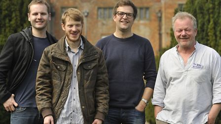 FolkEast patrons The Young'uns' Sean Cooney, David Eagle and Michael Hughes join festival organiser