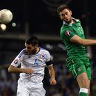 Daryl Murphy in action for the Republic