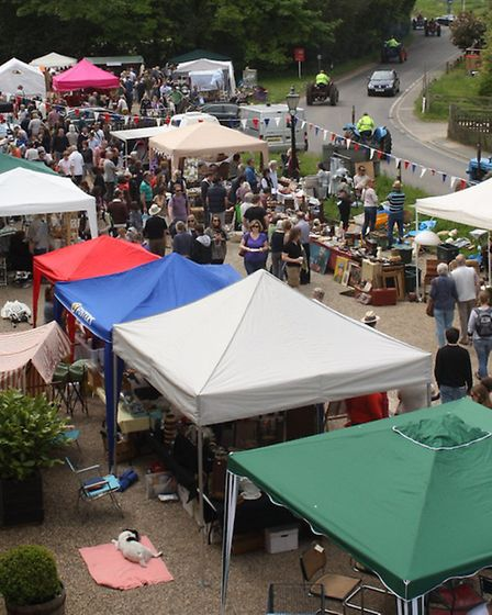 Vintage and makers market at Snape