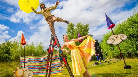 Once Upon a Festival show The Wind and The Sun