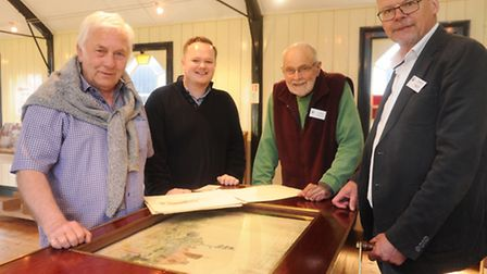 A rare opportunity to get a look at the Walberswick Scroll - a 123ft watercolour study of every hous