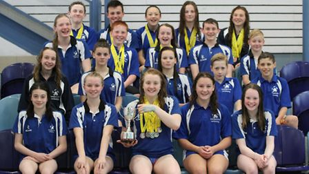 The Team Ipswich squad which attended the regional championships in May