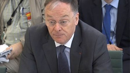EDF Chief Executive Vincent de Rivaz appears before the Energy and Climate Change Committee to answe