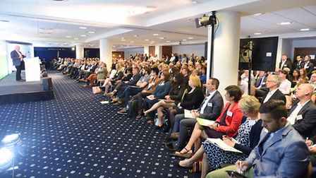 Innovators, investors and entrepreneurs from the East of England at the Venturefest East event at Ne