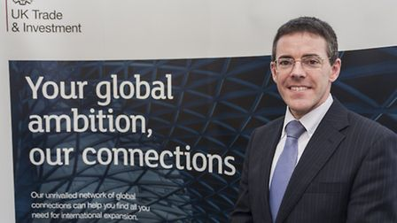 Alan Pain, UK Trade & Investment's regional director for the East of England.