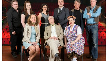 The Deben Players stage Michael Frayn's classic farce within a farce Noises Off at Seckford Theatre,