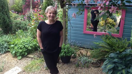 'I look after the garden but in tandem with all the bugs and beasties that are in it,' says Hazel Bu
