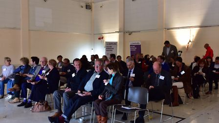 Meeting organised by the Institute of Directors about Suffolks burgeoning film industry
