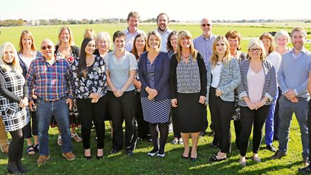 Members of the team at holiday lettings agency Suffolk Secrets.