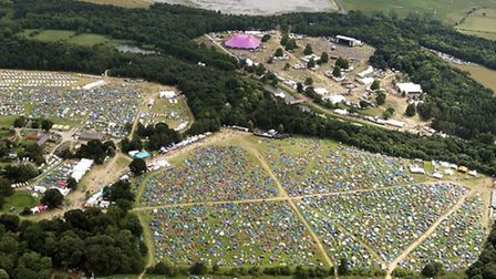 A view of Latitude 2016 from the air, by Mike Page