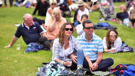 Crowds enjoyed a day of music at the Thorpness Country Club t at Thorpefest on Saturday 2nd July.