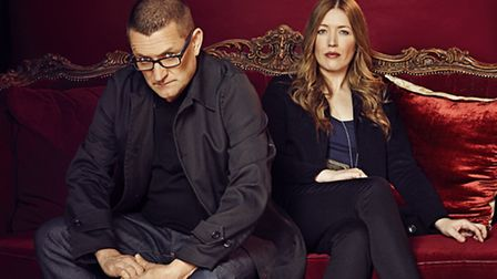 Paul Heaton and Jacqui Abbott who wowed Thetford Forest last night.