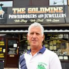 The Gold Mine pawnbrokers and jewellers and owner Donald Gray. Picture: James Bass