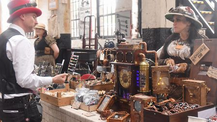 Steam Punk event at The Long Shop Leiston