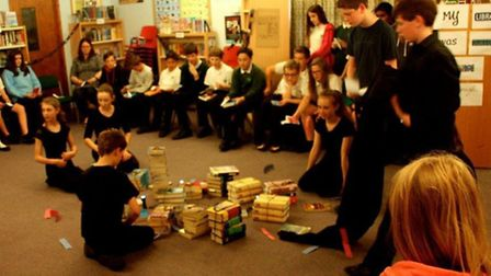 Hardwick Middle School pupils staged the Tempest to say farewell to their school