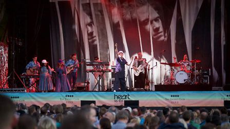 Will Young at Newmarket Nights. Photo: Simon Traylen