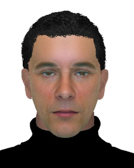 An e-fit has been released by police investigating a robbery in Tattingstone