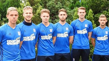 IpswichTown have handed six academy players professional deals for 2016/17 - Monty Patterson, Jacon