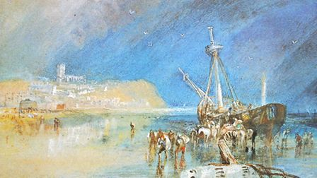 One of Turner's paintings of Aldeburgh, dating from around 1827.