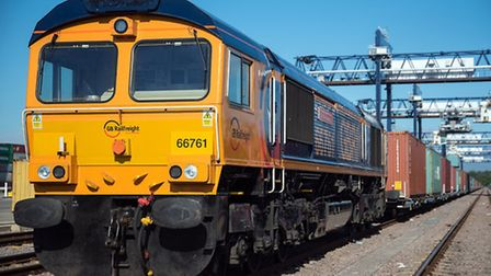 A new daily rail freight service has been launched from the Port of Felixstowe and Rotherham.