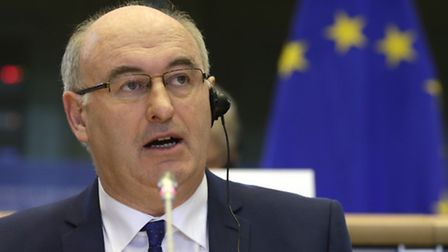 European Union Commissioner for Agriculture and Rural Development Phil Hogan.