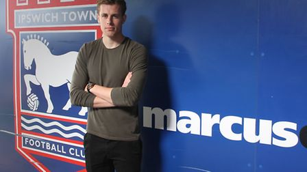 New Ipswich Town signing Adam Webster. Photo: ITFC
