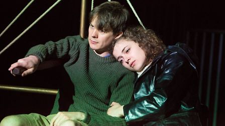 Matilda Howe and Christopher Buckley in We Didn't Mean To Go To Sea, by Arthur Ransome, Eastern Ang