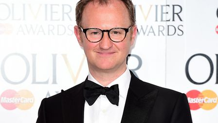 Mark Gatiss, coming to The Riverside Theatre, Woodbridge. Photo: Ian West/PA Wire