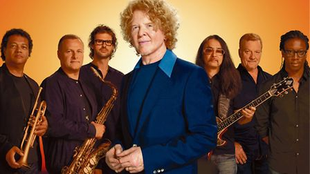 Simply Red, who played at Thetford Forest, last night