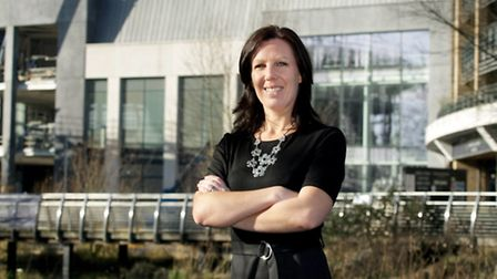 Laura Rawstron, manager of the new Chelmsford branch of John lewis