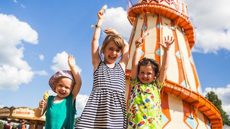 Fun for youngsters at this year's Latitude Festival. Photo: Dan Medhurst