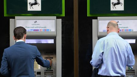 Lloyds Banking Group said it is cutting 3,000 jobs and shutting 200 branches as the lender braces fo