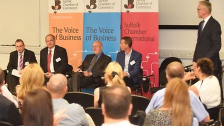 New Anglia Local Enterprise Partnership, together with Norfolk and Suffolk Chambers of Commerce, hos