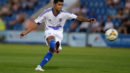 Cameron Stewart has featured in four of Ipswich Town's five pre-season games so far. Photo: PAGEPIX
