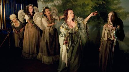 The cast of 'Playhouse Creatures' Chichester Festival Theatre 2012.