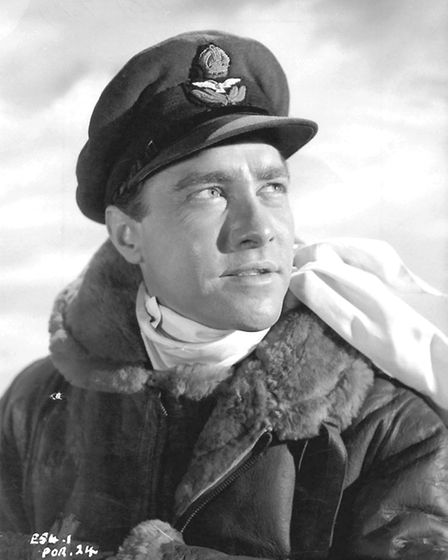 Richard Todd as Guy Gibson in the 1955 film The Dambusters
