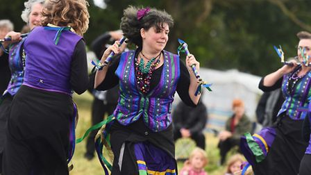 FolkEast music and art festival showcasing the best of Suffolk at Glemham Hall.