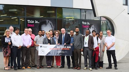 The launch of the Suffolk Black Minority Ethnic Business Awards at the University of Suffolk, which