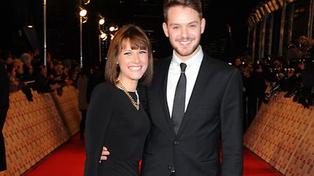 Series two winner John Whaite arriving for the 2013 National Television Awards at the O2 Arena, Lond