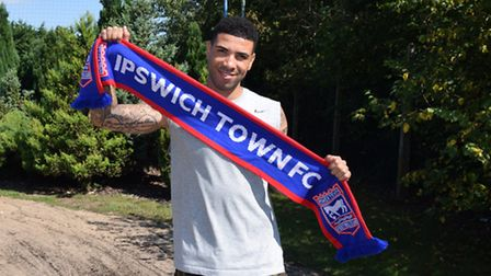 Leon Best has signed a one-year deal with Ipswich Town. Photo: ITFC