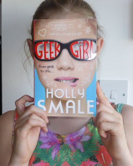 The winner of the best Bookface photo was Elize Collins from Newmarket with her photo of the cover o