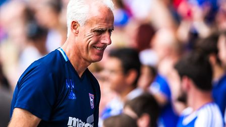 Town manager Mick McCarthy pictured ahead of the Ipswich Town v Norwich City (Championship) match at