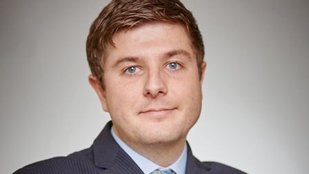 The new CBI assistant regional director for the East of England, James Allen.