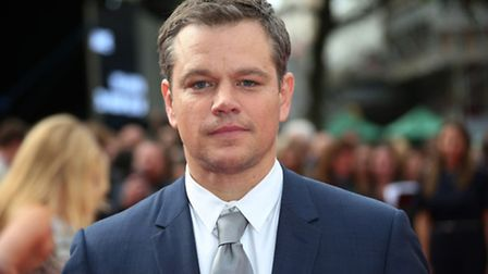 File photo of Matt Damon at the premiere of the film Jason Bourne in London, on 11/07/16. See PA Fe
